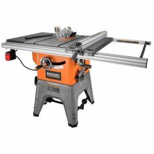 d. RIDGID R4512 10in. 13-Amp Cast Iron Table Saw