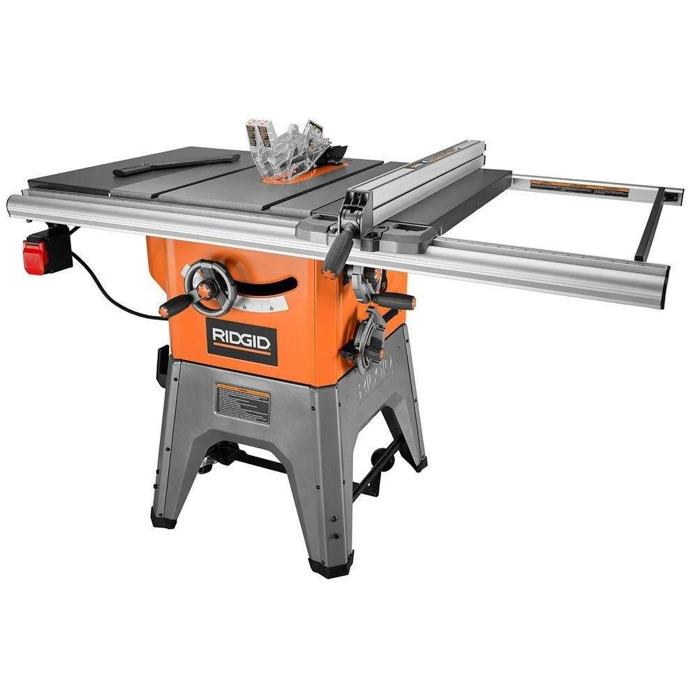 RIDGID R4512 10in. 13-Amp Cast Iron Table Saw
