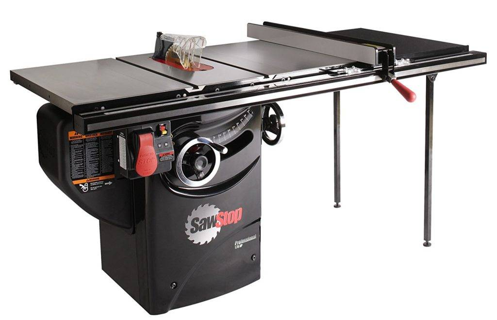 a. SawStop 36''professional Cabinet saw