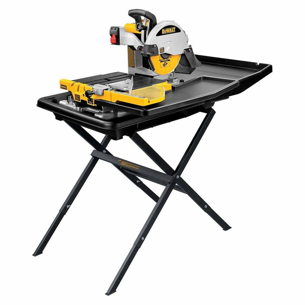 Dewalt D24000S Heavy-Duty 10-inch Wet Tile Saw