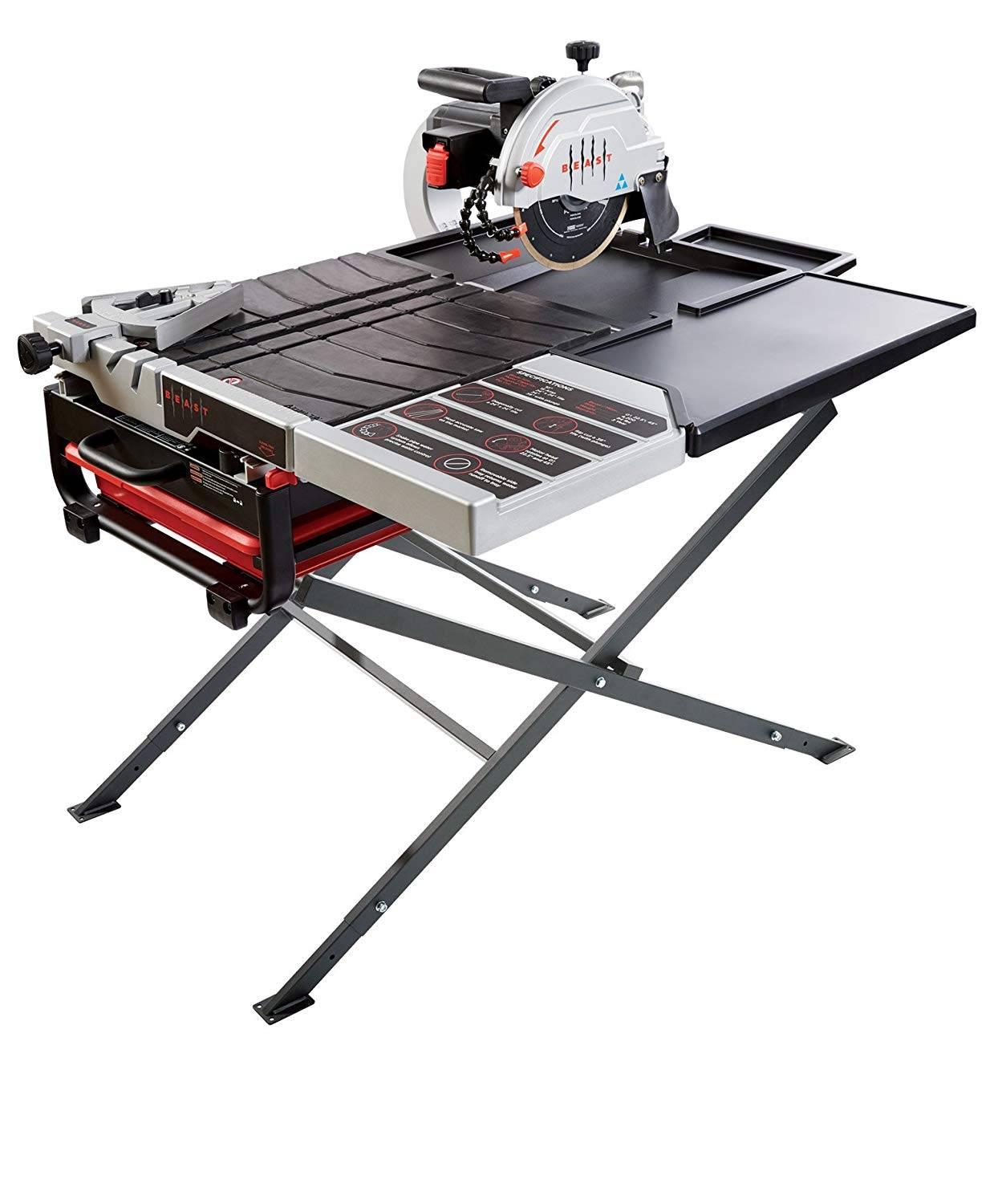 Lackmond Beast 10 Inch Wet Tile Saw Review Sawmuseum